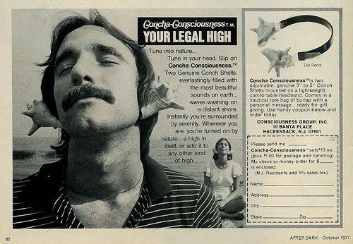 #Concha #Consciousness: The original #shell #earphones #trippy #High #SUPERHIGH
