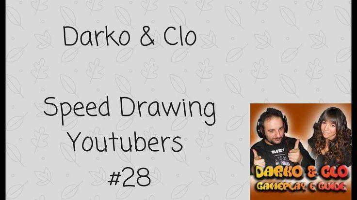 Darko e Clo - Speed Drawing Youtubers #28