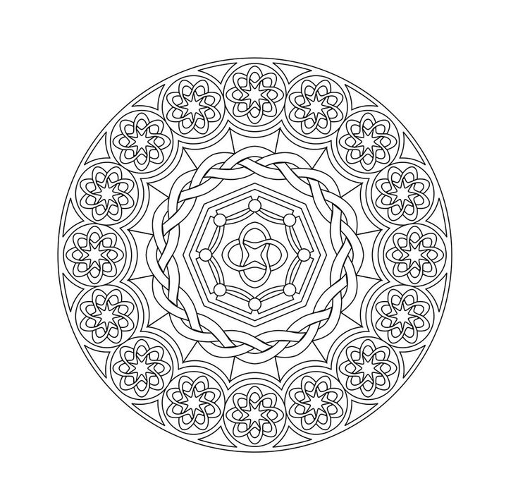 22 printable mandala abstract colouring pages for meditation stress relief the open mind