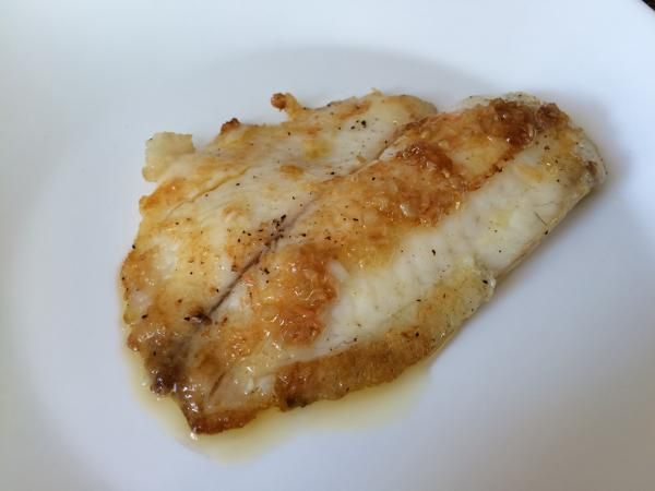 Receta de Filete de pescado al jengibre