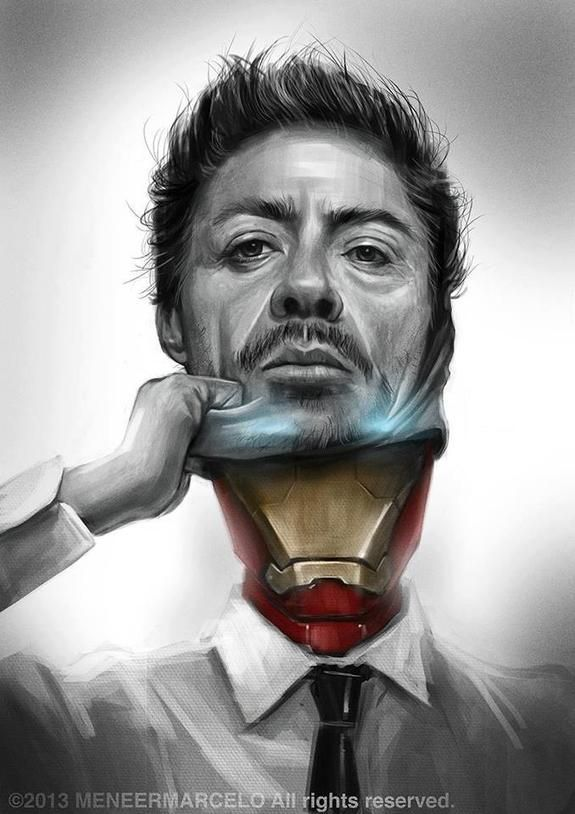 Iron Man Art by Meneer Marcelo #ironman