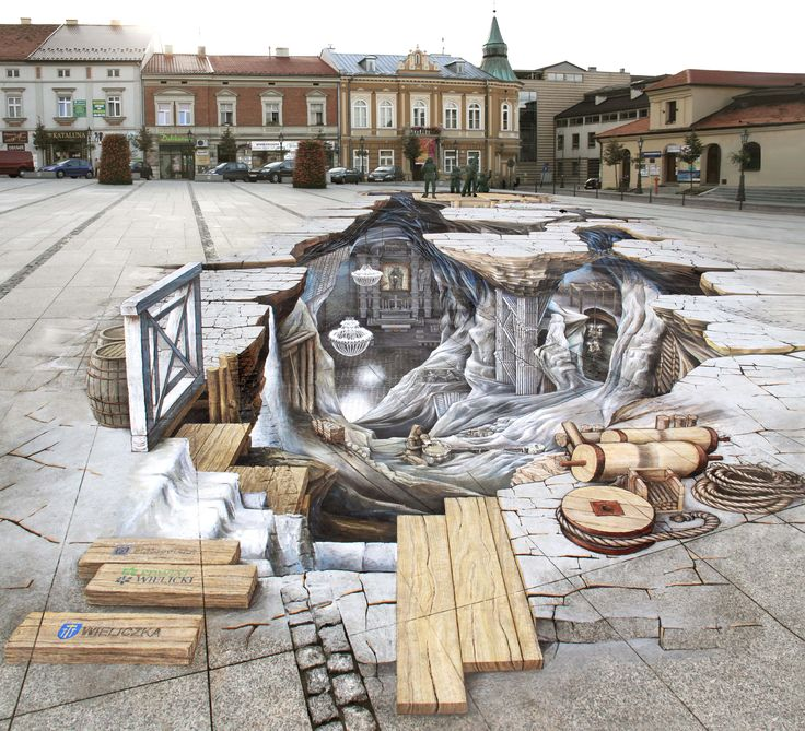 3D Painting _My work in Wieliczka City/PL