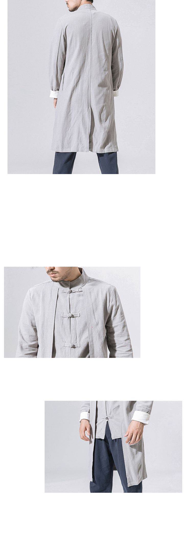 Sinicism Store 5XL Men Long Length Jacket Men Trench 2017 Cotton Linen Fabric Male Vintage Jacket Coat Windbreaker Size Plus-in Trench from Men's Clothing & Accessories on Aliexpress.com | Alibaba Group