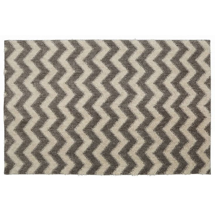 Mohawk® Home EverStrand Stitched Chevron Rug, Grey