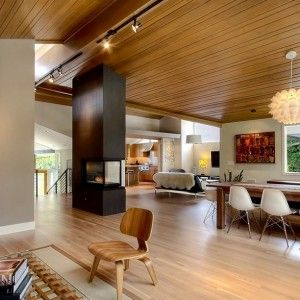 mid century modern wood flooring - Google Search