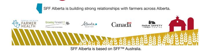 Dr. Susan Brumby of the National Centre for Farm Health in Australia will be coming to Raymond, Alberta, Canada July 4th – 8th, 2016 to observe the successful adaptations of the Sustainable Farm Families of Alberta program and to help train new members of the SFF Alberta team and provide additional training on year 3 of the SFF program.