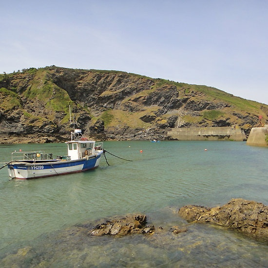 Port Isaac, England by Fiona Therese