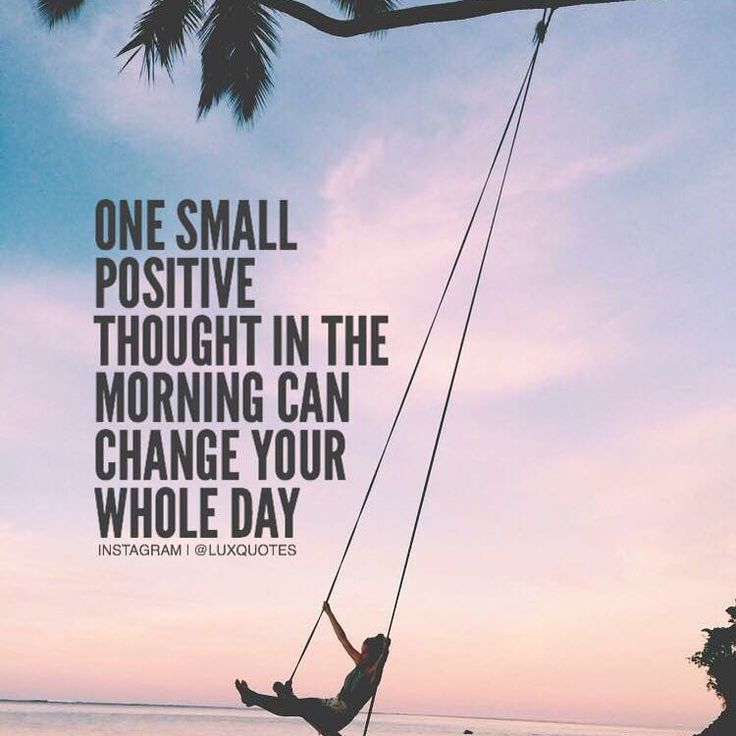 Think positive ✨