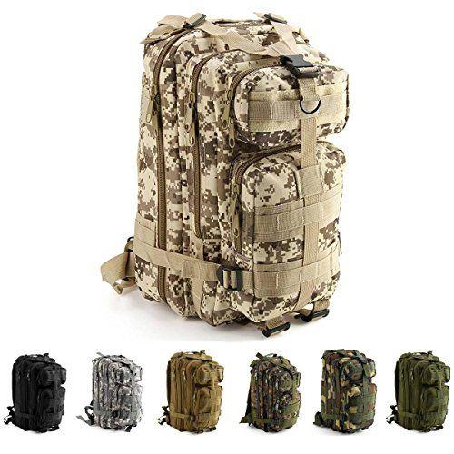 Amazon IVIM US Assault Pack Trekking Rucksack Farradrucksack m… | 06685987715976 – Campingmultistore.de