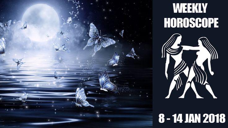 Gemini Weekly Forecast - 8 to 14 January 2018 #Gemini #horoscope #astrology