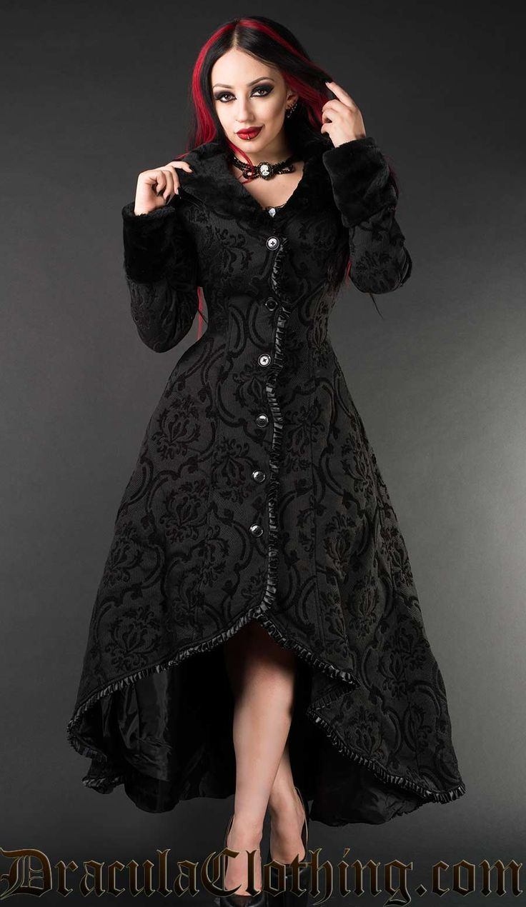 Black Evil Princess Coat