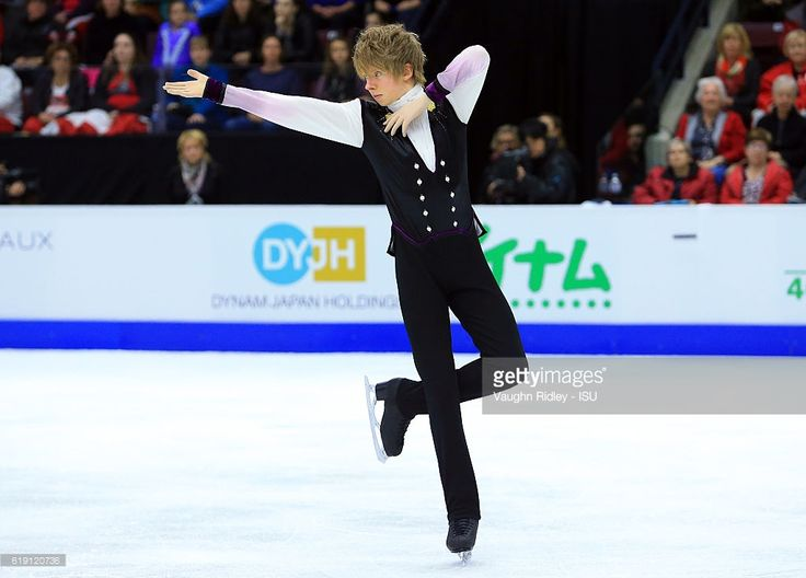 News Photo : Kevin Reynolds of Canada competes in the Men Free...