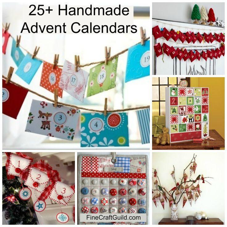 Homemade Calendars : Best ideas about homemade advent calendars on pinterest