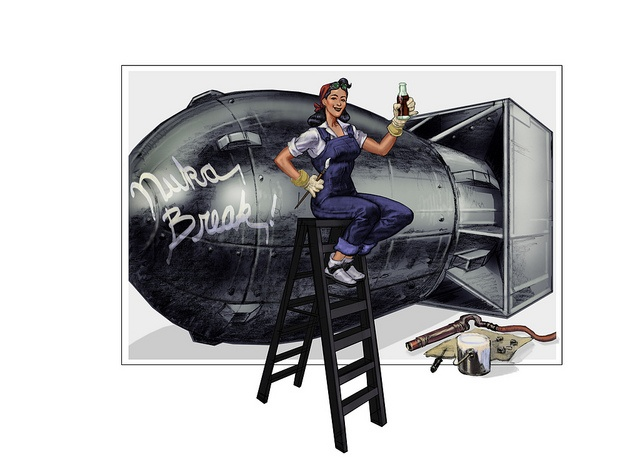 NukaEdit Adam Adamowicz Fallout 3 Concepts