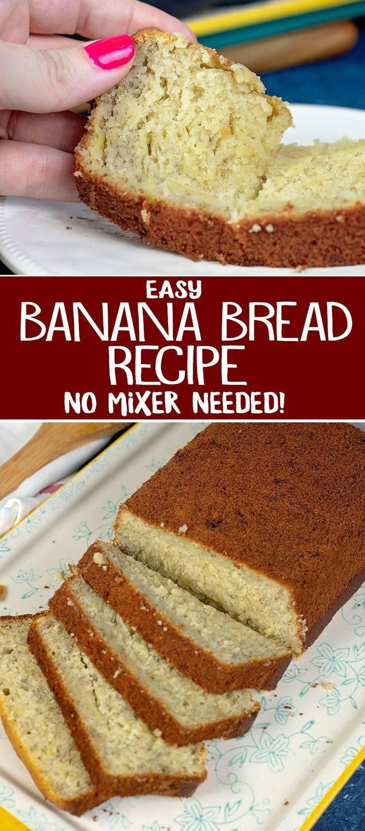 A Delicious And Easy Banana Bread Recipe That Needs To Be Part Of
