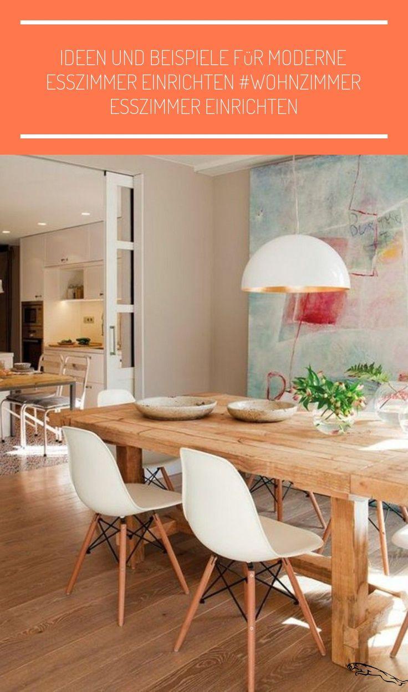 Ideen und Beispiele für moderne Esszimmer einrichten # ...