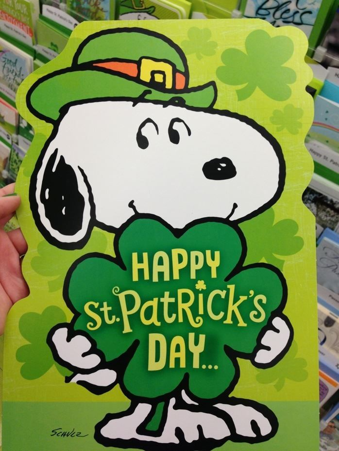 Best Snoopy St. Patrick's Images