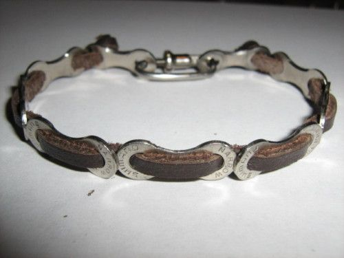 Bike Chain Bracelet Recycled Biker Fixie Cycling Road | eBay