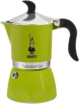 Bialetti Fiammetta Espressokanne, grün #Kanne #Kaffee #Küche #Haushalt #Galaxus