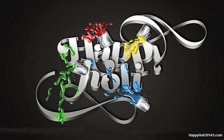 Happy Holi 2014 Greetings SMS in Hindi and English