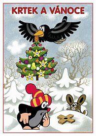 Krtek a Vánoce - Omalovánky A5
