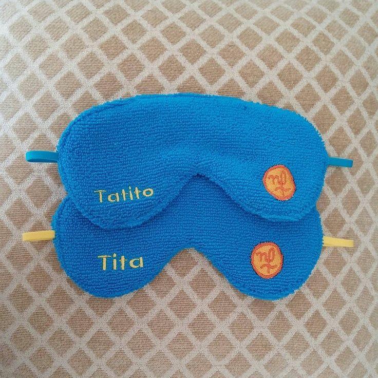 Tita y Tatito ya no tienen que preocuparse por la luz gracias a sus antifaces personalizados MakingBags