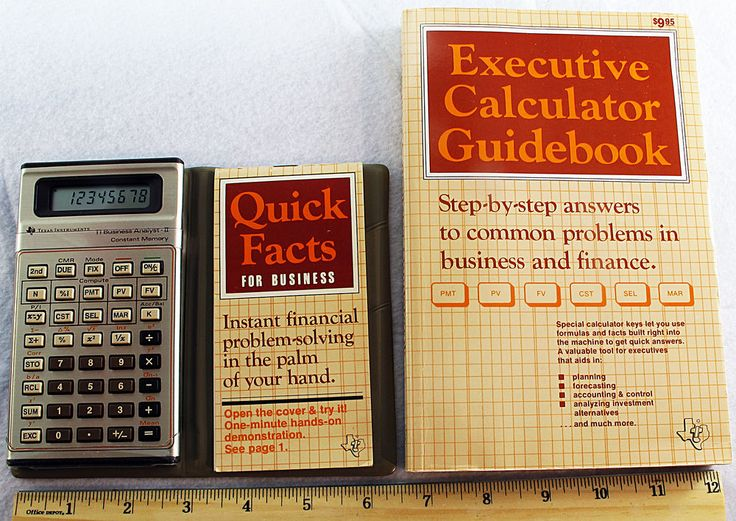 TI BA II Business Analyst Financial Calculator Texas Instruments - financial calculator