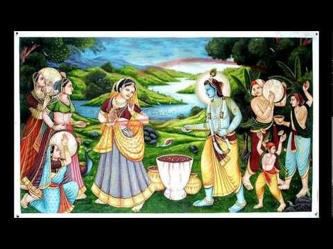 Holi Pictures Of Radha Krishna