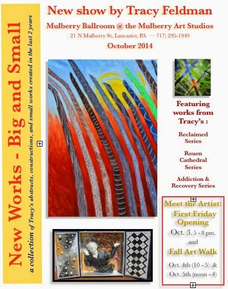 tracyfeldmanartblog: I have a major show coming up in October!