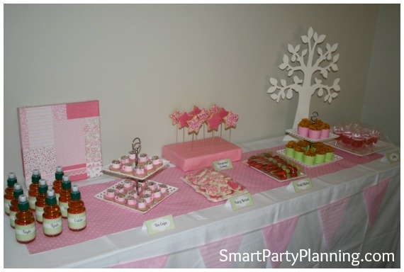 Tinkerbell Party Theme #TinkerbellPartyFoodIdeas