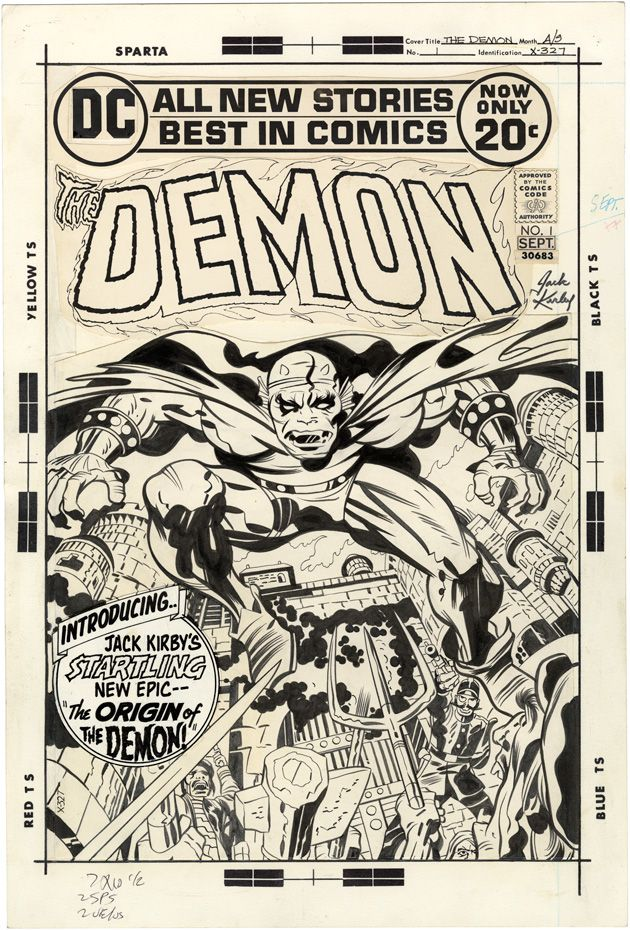 The Demon, Issue 1, Cover