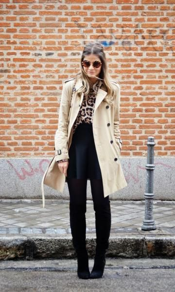Look: Thássia Naves - Trench Coat