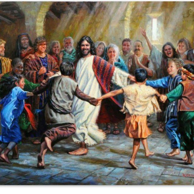 La alegría  del  amor  es simple,  como  el  corazón  de  los  niños...que  viven  desde  el  espíritu  de  su  Divinidad.