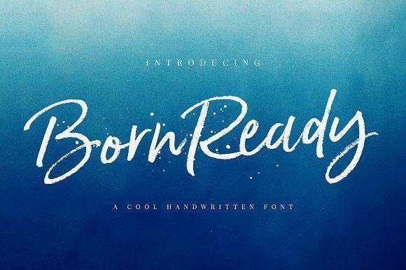 Born Ready Marker Font by Nicky Laatz on @creativemarket