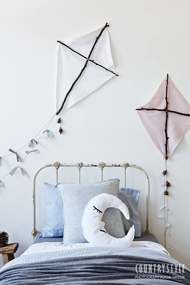 Ideas de decoración infantil: ¡Cometas DIY!