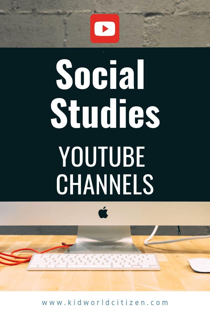 Social Studies YouTube Channels for Kids