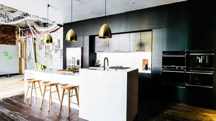 Take a look inside Michael and Carlene's impressive and near-perfect kitchen.