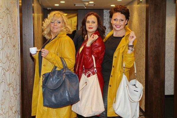 Joanna Kurowska, Ewa Gorzelak i Małgorzata Pieńkowska uwielbiają najnowsze płaszcze Gawor Collection!