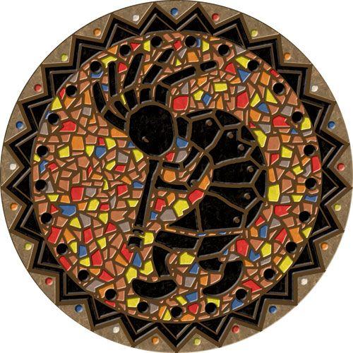 421 best kokopelli images on pinterest kokopelli tattoo for Mosaic painting meaning