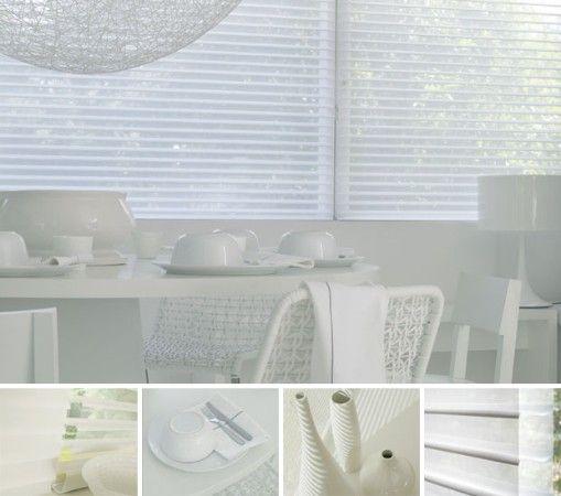 ik vind dit er wel heel mooi uitzien als raambekleding.. het geeft privacy en toch laat het veel licht door..