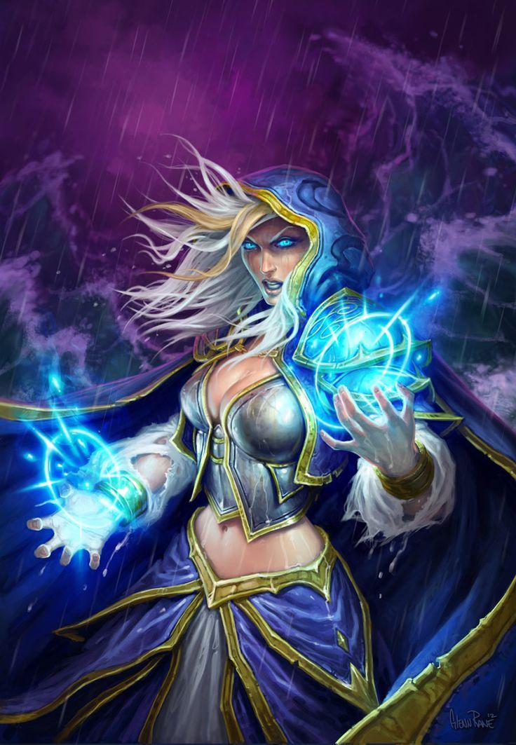 Jaina Proudmoore - Characters & Art - Hearthstone: Heroes of Warcraft