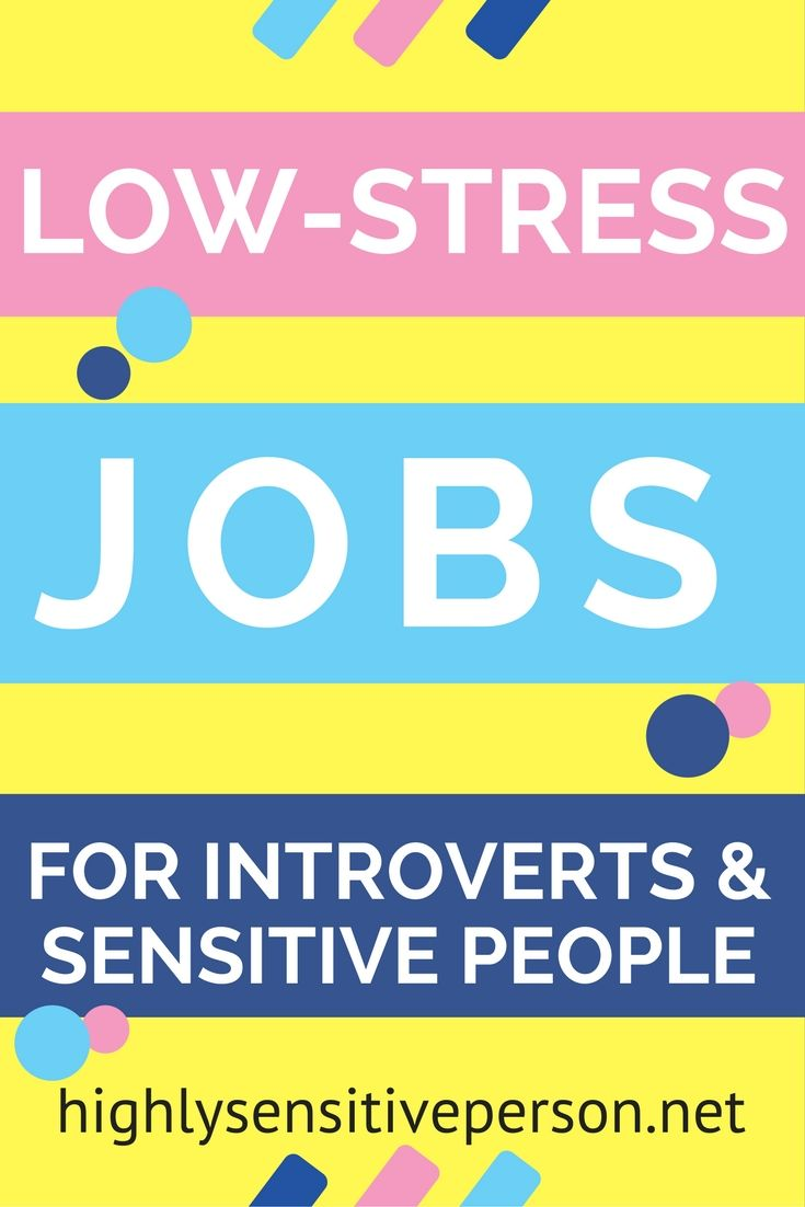 Jobs and Careers for Highly Sensitive Persons  A Highly