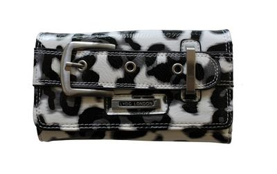 LYDC® pantterikuosi lompakko, musta-valkoinen 15,90€