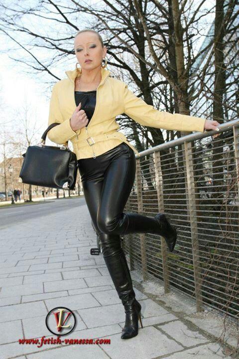 Ultimate leather heels stilettos shoes cuir leder - 2 9