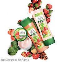 Mandle a jahody na ochranu a posílení barevných vlasů  Nová kolekce #Nature #Secrets #Oriflame s výtažky z jahod a mandlí je určena pro barvené vlasy a jejich kvalitní ošetření.  www.krasa365.cz