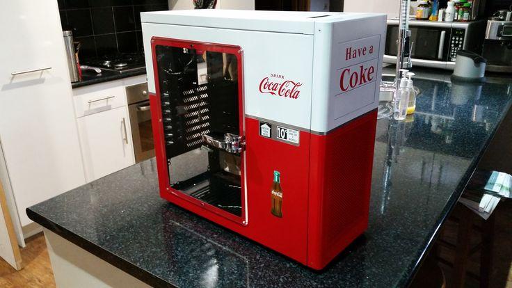 Coca Cola PC Case, Before ageing