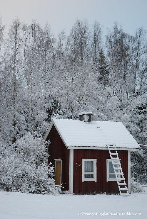 My grandparents´ little sauna mökki.. :)