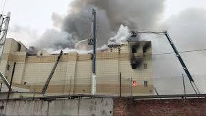 37 νεκροί μέχρι τώρα σε πυρκαγιά Εμπορικού κέντρου
