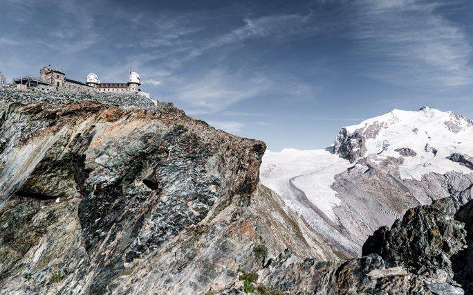 Skiferien Schweiz: 360 Grad Panorama