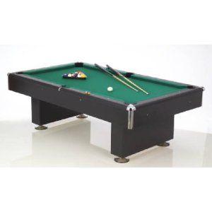 Billardtisch Black Pool – 8 ft. Billard Tisch Top Angebote « Poolbillard